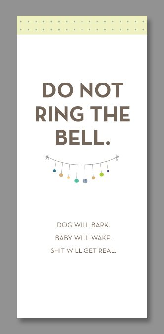10 of the best (and effective) printable do-not-disturb door hangers to hang as a sign outside your house or any room your baby sleeps in.