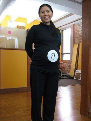 Eight ball subtle pregnancy costume