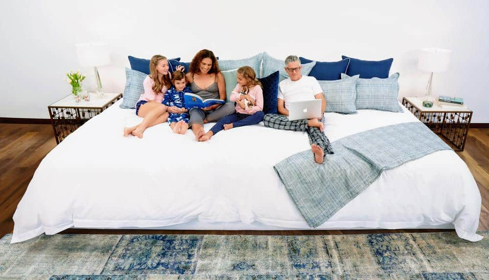 12 foot giant bed for families