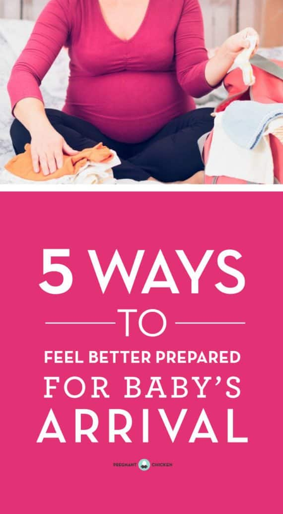 Attention pregnant, nesting moms! Here are five ways to feel better prepared for your baby's arrival. Whether you're pregnant and expecting for the first time, or this is number 2 or 3, follow our list to take steps to get ready for baby. You've got this, mama!