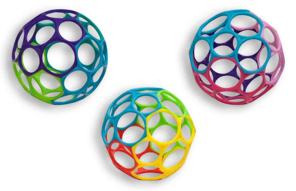Best gifts for babies: Oball is a great gift for an infant and under $10