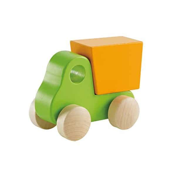 Hape Wooden Vehicles Whether your babe is into planes, trains or automobiles, this set of 4 wooden vehicles has something for everyo