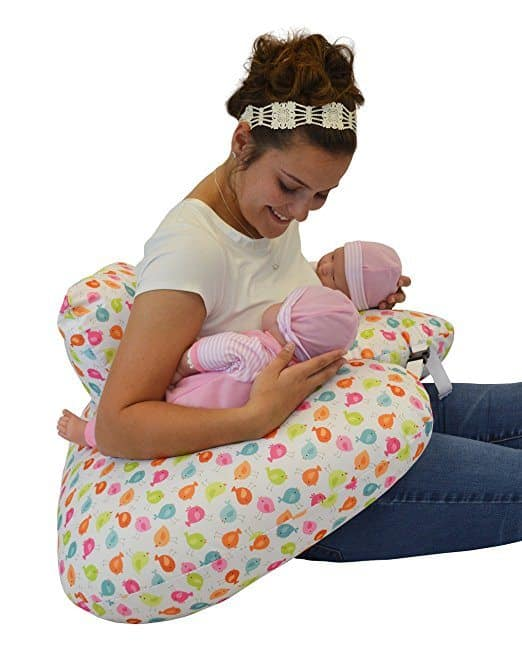 Preparing for twins is a big task, but you don't need to double your shopping list. Here's what you just need one of. Nursing pillow