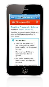 Best Pregnancy and Baby Apps Voted by Parents. WebMD Baby (free)