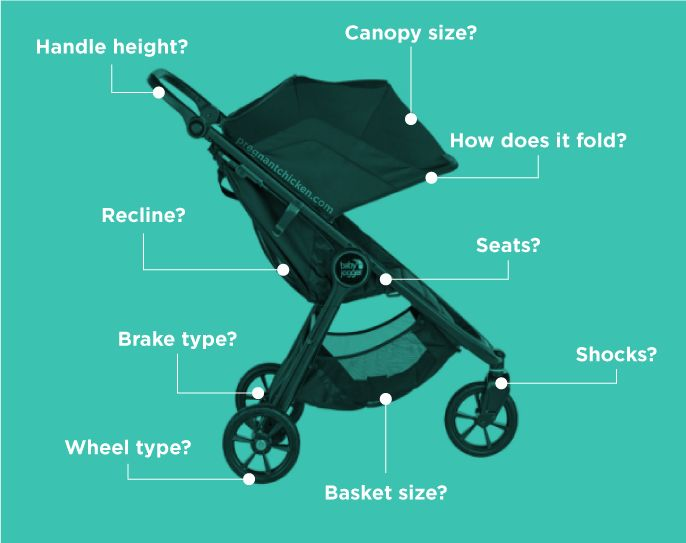 features to consider when buying a baby stroller