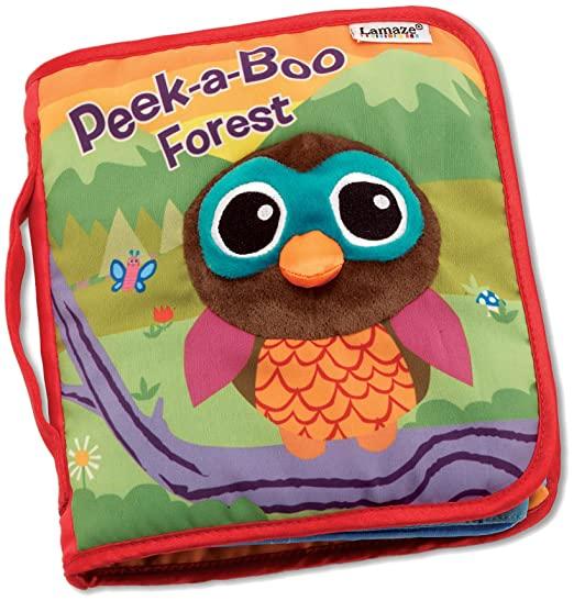 Best Gifts for a Newborn: Lamaze Peek-A-Boo Forest Soft Book