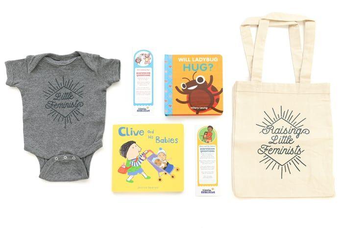 little feminist subscription month as a newborn gift idea