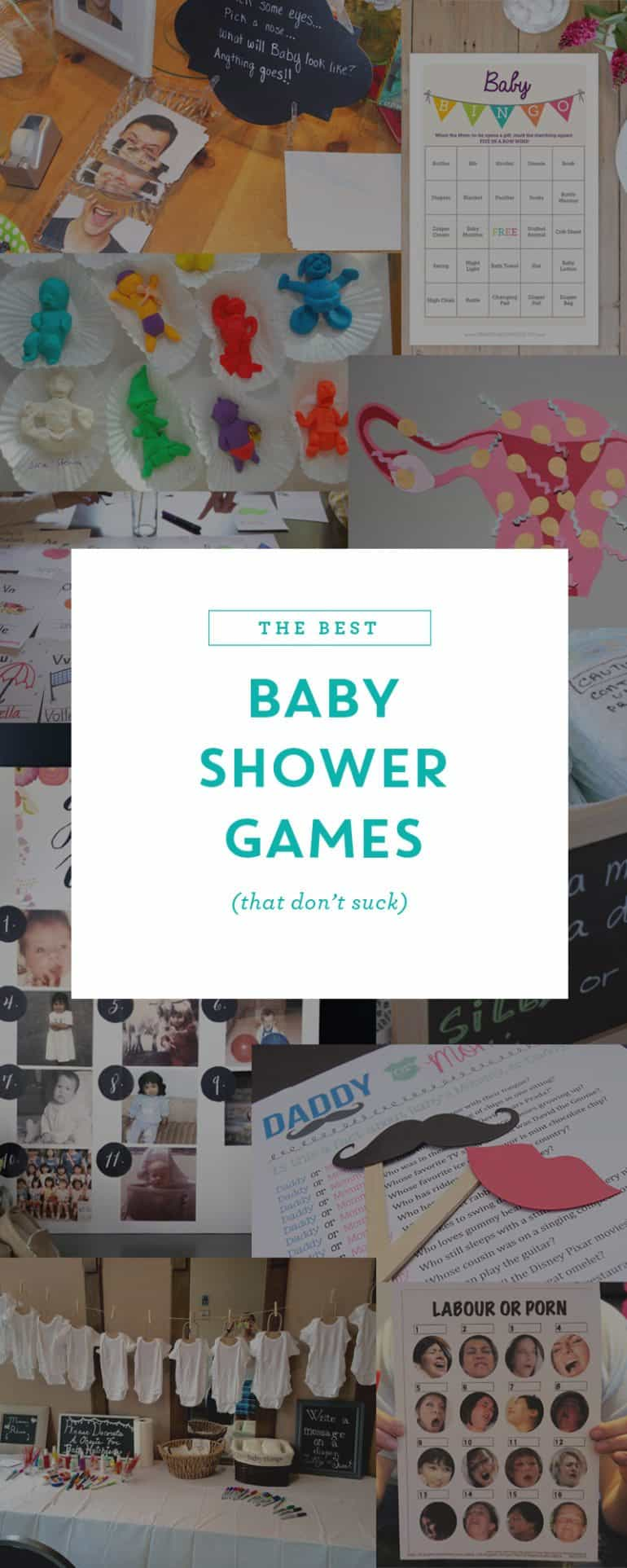 Here are some unique and hilarious baby shower games that are fun for everyone.