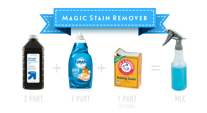 magic stain remover for baby laundry