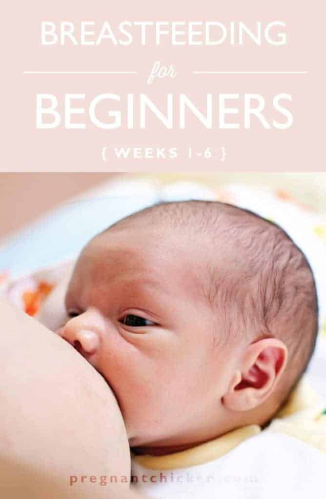 Breastfeeding Tips for Beginners: From the first week to week six. Everything from getting a good latch to sore nipples is covered in this essential guide.