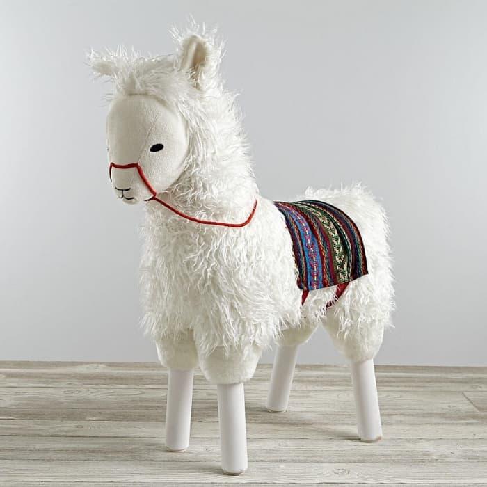 Ride on llama stuffed animal