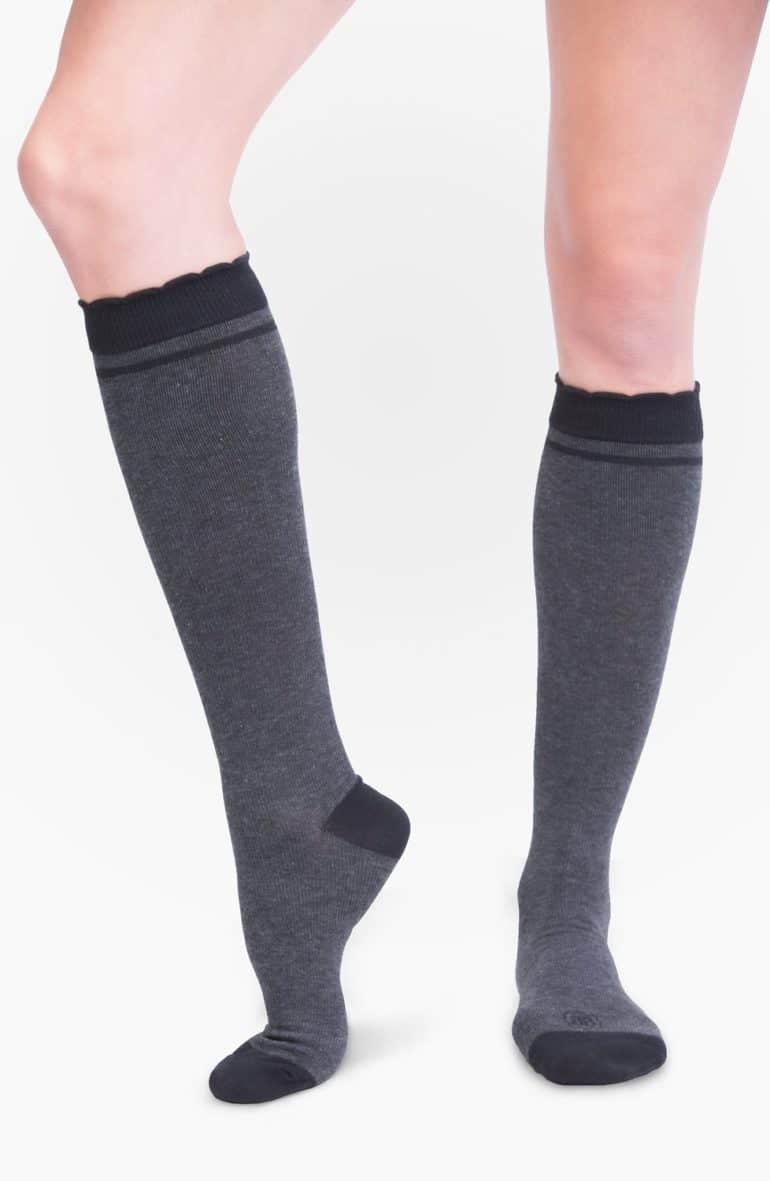 Compression socks as a practical gift idea for pregnant woman