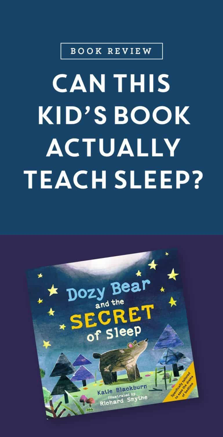 A children's book that combines proven sleep and relaxation techniques with gorgeous illustrations. Dozy Bear