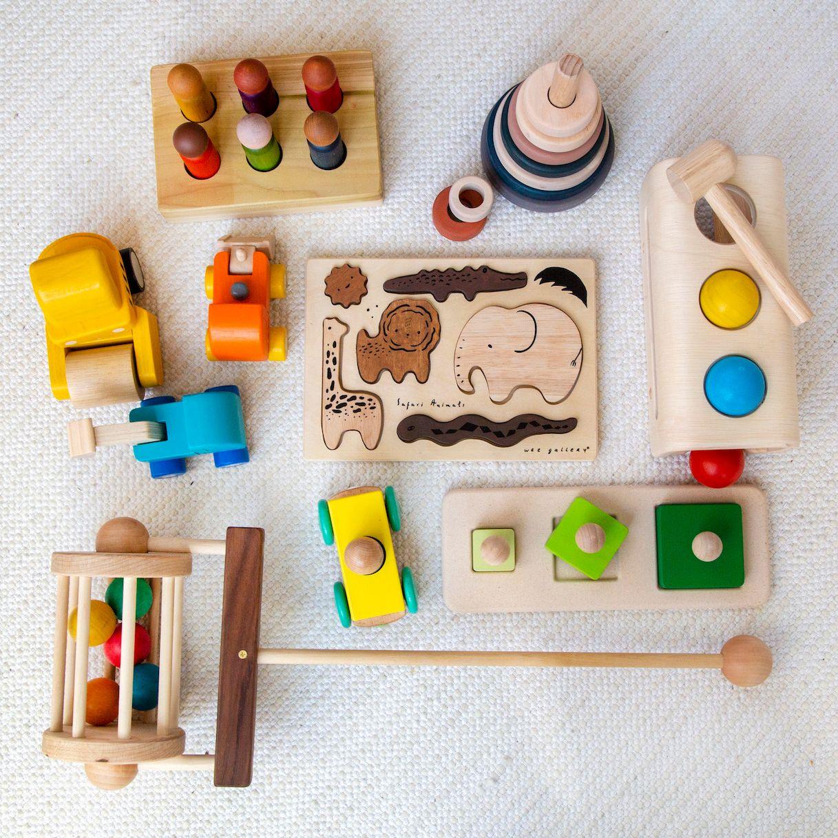 tiny earth toys subscription box selection