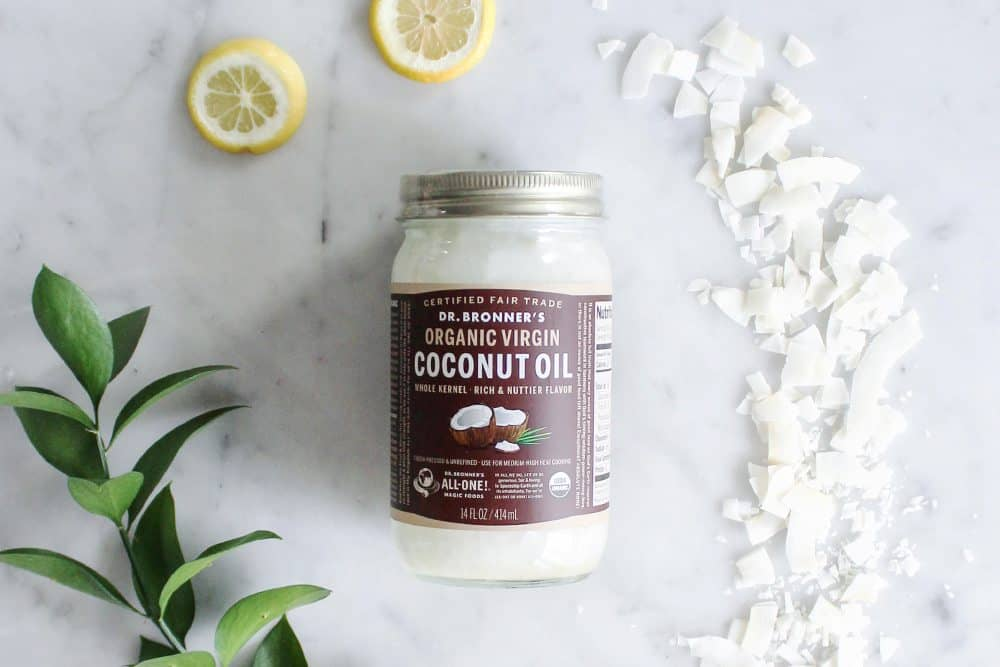 Dr. Bronner's Fair Trade & Organic White Whole Virgin Coconut Oil