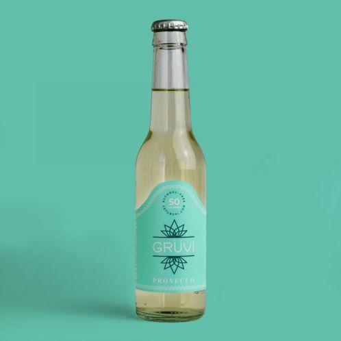 Gruvi prosecco bottle