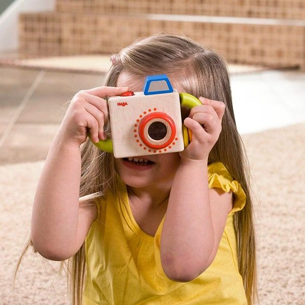 HABA Capture Fun Wooden Camera, Best Wooden Baby Toys
