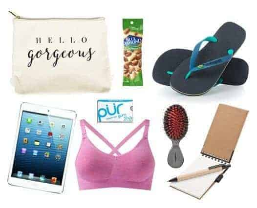 Items to pack in your hospital bag