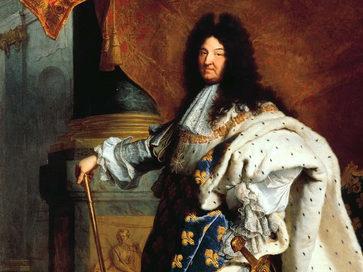 Painting of King Lous XIV