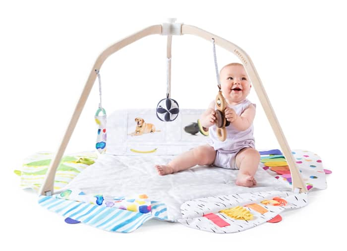 Lovevery Play Gym. Best Holiday Gifts for Newborns 2020