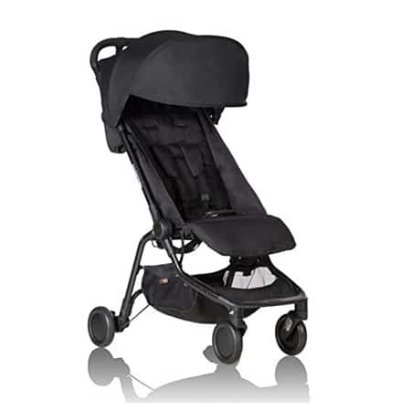 Mountain Buggy Nano - included as example in tips for picking right stroller