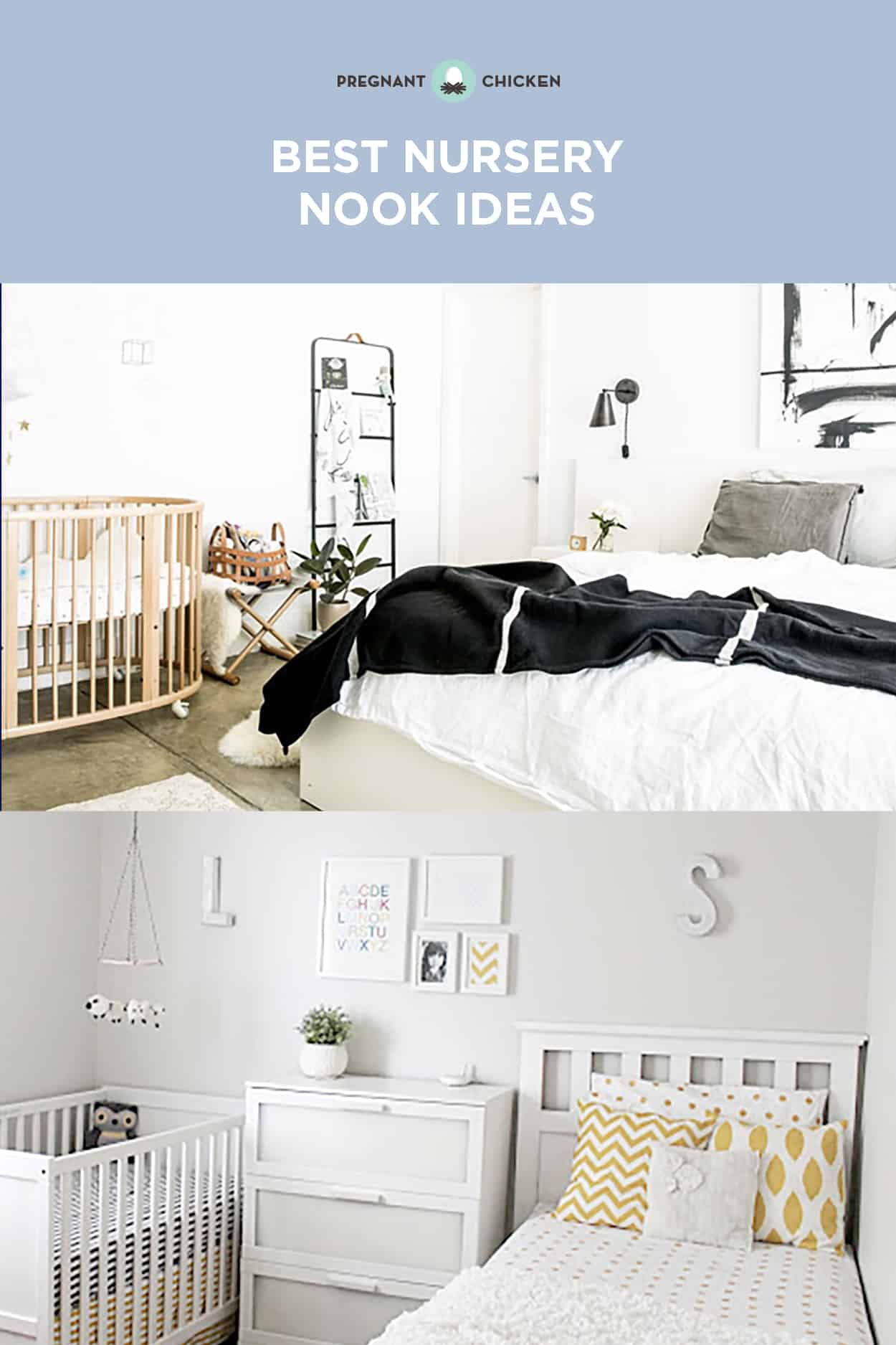 Best Nursery Nook Ideas - Creating Space for Baby in a Master Bedroom