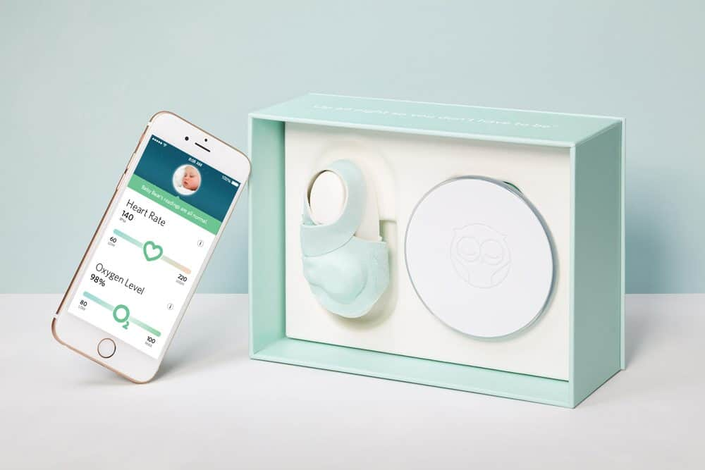 The Owlet Baby Monitor - can a sock save your sanity? An overview of the really cool Owlet Heart Rate and Oxygen Monitor. I wish I had this when my kids were babies!