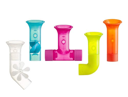 BOON building bath pipes - STEM toys for babies