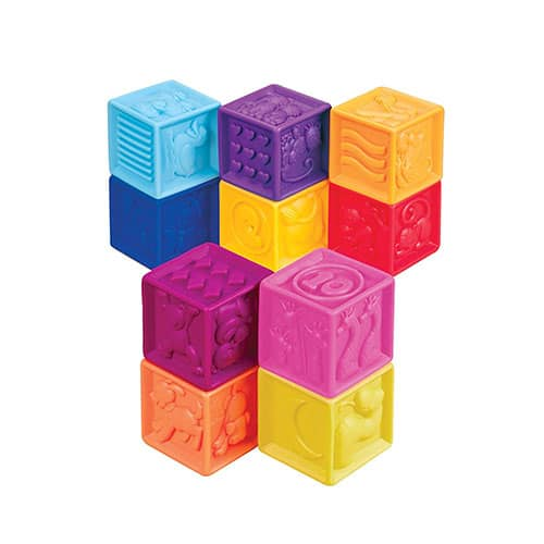 Squeeze blocks - Technology and Engineering Baby Toys