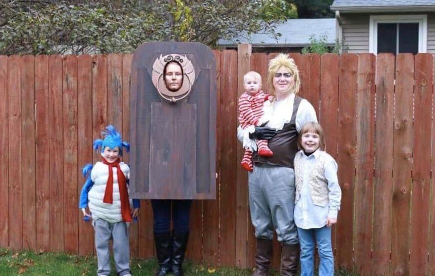 labyrinth family halloween costume