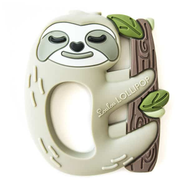 The Best Sloth Themed Baby Stuff. Sloth teether