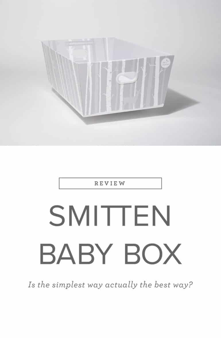 Finnish Smitten Baby Box. Is the simplest bassinet the best? Here are 10 reasons to consider a Smitten for your baby.