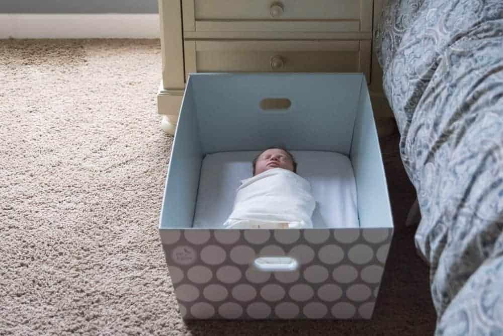 safe sleep a Bassinet Box