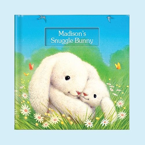 personalized board book for easter