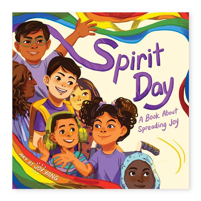Spirit Day a Book about spreading Joy