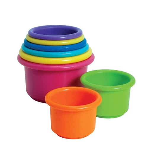 Stacking cups - Technology and Engineering Baby Toys