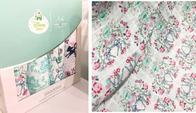 Best Pregnancy & Baby Products for 2017: aden + anais -disney swaddles