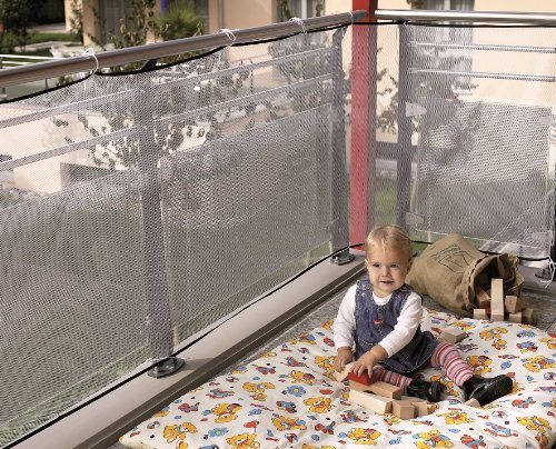Child Safety Checklist: Balconies and second-story porches/decks.