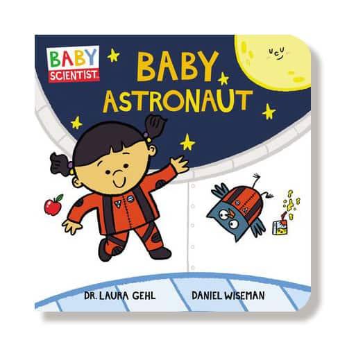 Baby Astronaut book - STEM baby books