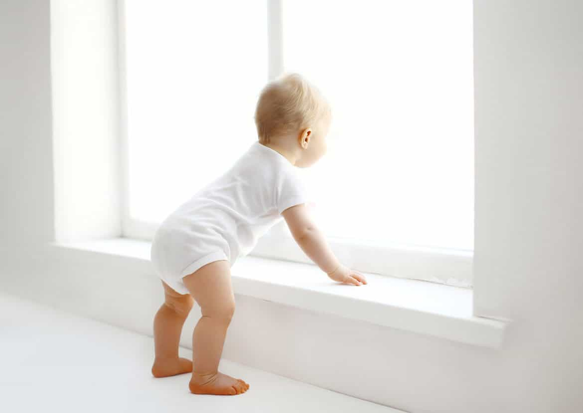 Baby proofing tips: don't forget about window dangers.