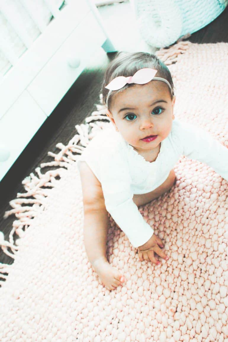 Cute baby hair accessories including clips, headbands, and bows that tame even the wispiest growth.