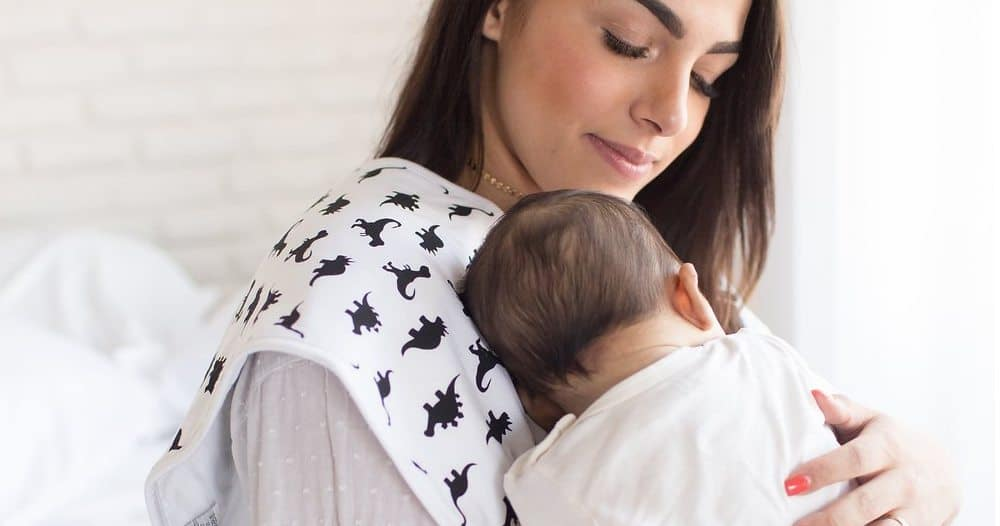 Include burp cloths in your breastfeeding station