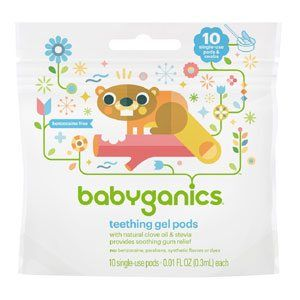 Practical Stocking Stuffers for a Baby: Teething Pods