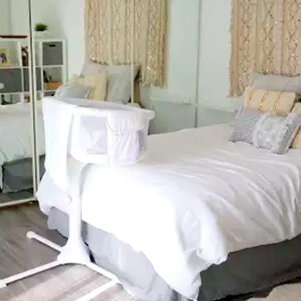 halo bassinest in bedroomhalo bassinest in bedroom