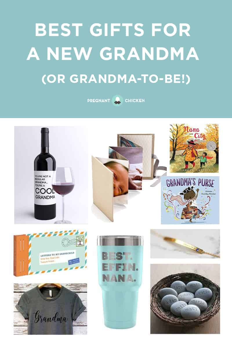 best gifts for a new grandma or grandma to be