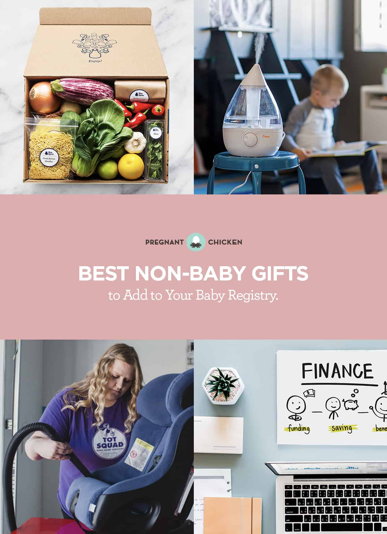 Whether it's your baby registry, or a baby gift for someone else, here are some unique non-traditional gifts that are and handy when you have a baby. #babygifts #babyshower #newmomgift #babyprep #babyregistry #uniquebabygift