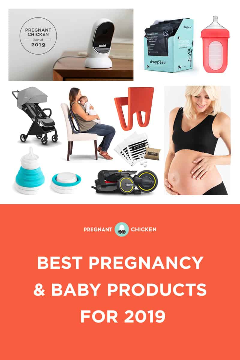 A sneak peek at the best pregnancy & baby products for 2019. From light strollers to space saving rockers, this gear is a must-see if you've got a newborn!