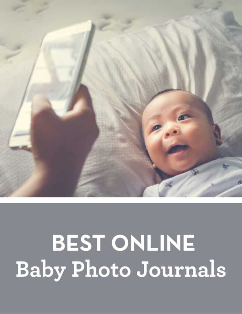 There are so many cool options so you should be able to find one that suits your needs. Here are our top picks for best online baby photo journals. #freephotosites #babyphoto