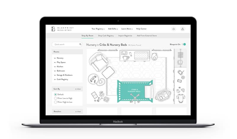 blueprint baby registry laptop