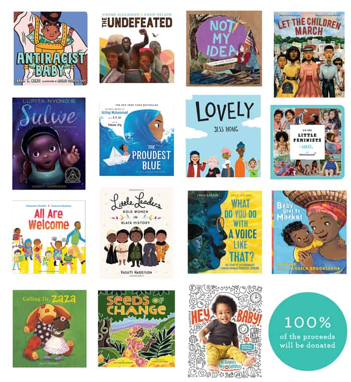 books for teaching kids about racism, race and equality